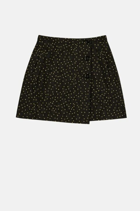 QUILTED MINI SKIRT