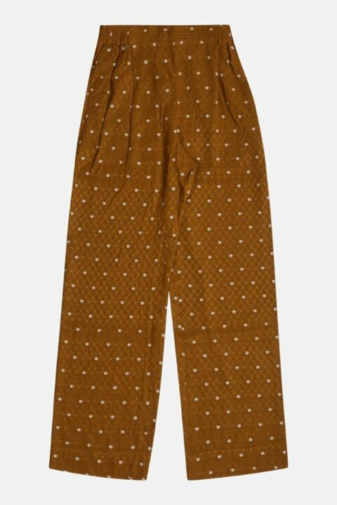 RELAXED STRAIGHT TROUSERS