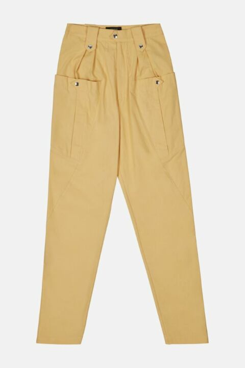 OVERSIZED COTTON TROUSERS