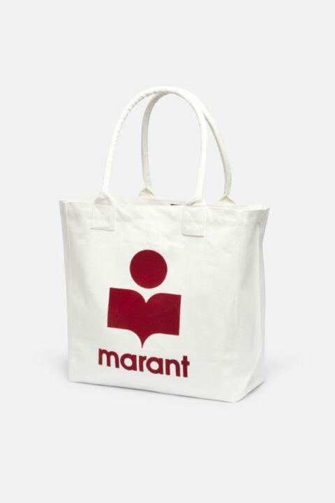 LOGO PRINT CANVAS BAG