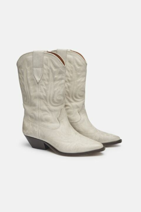 LEATHER COWBOY BOOTS