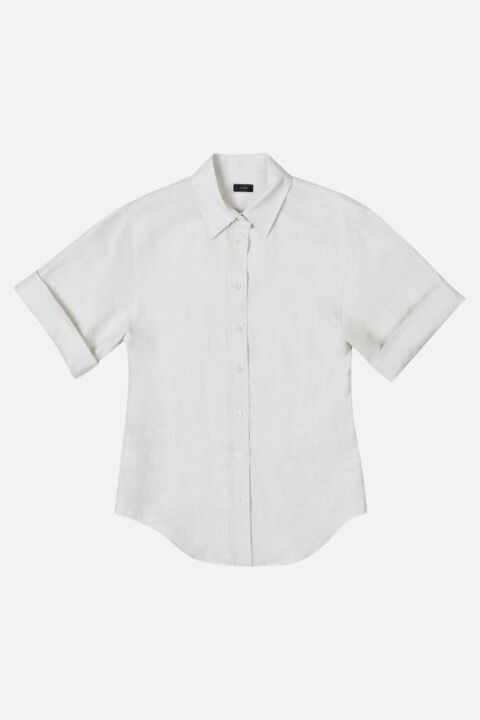 SHORT SLEEVE SHIRT WITH COLLAR