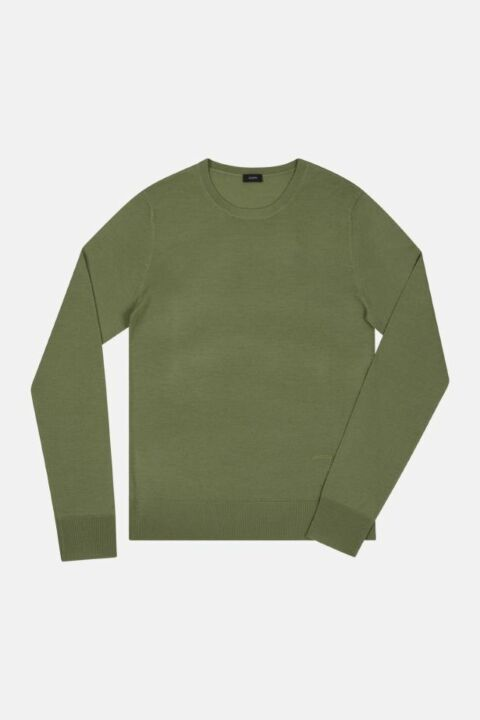 FINE MERINO ROUND NECK SWEATER