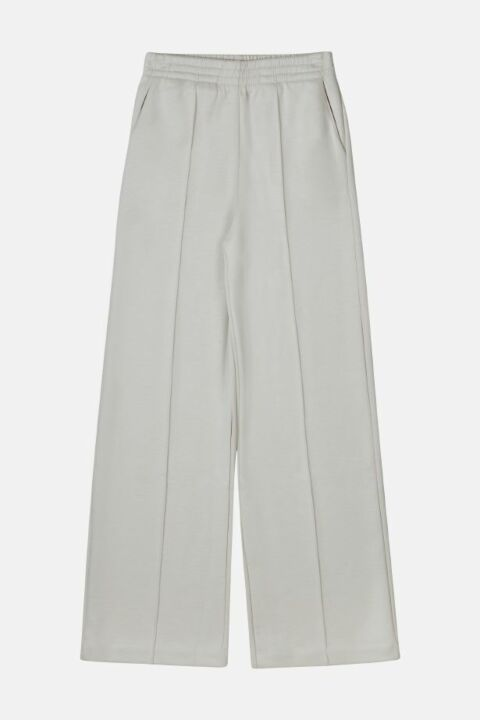 STRAIGHT VISCOSE BLEND TROUSER