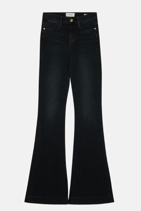 HIGH RISE FLARE DENIM