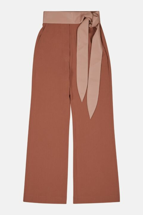 FABRIC BLOCK PANTS