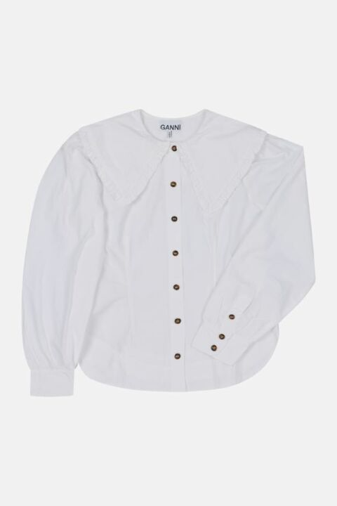 SHIRT WITH EXAGGERATED COLLAR
