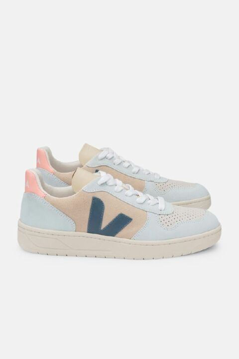 PASTEL LEATHER SNEAKERS
