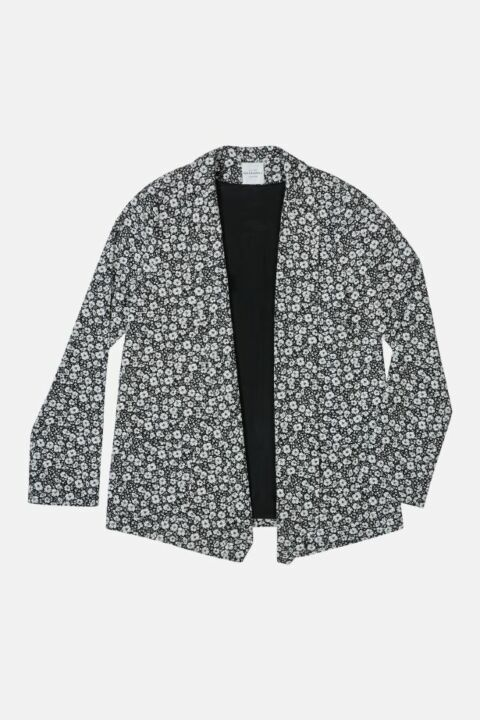 BLAZER WITH FLOWER PRINT