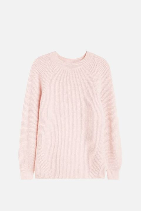 COTTON CHUNKY KNIT SWEATER