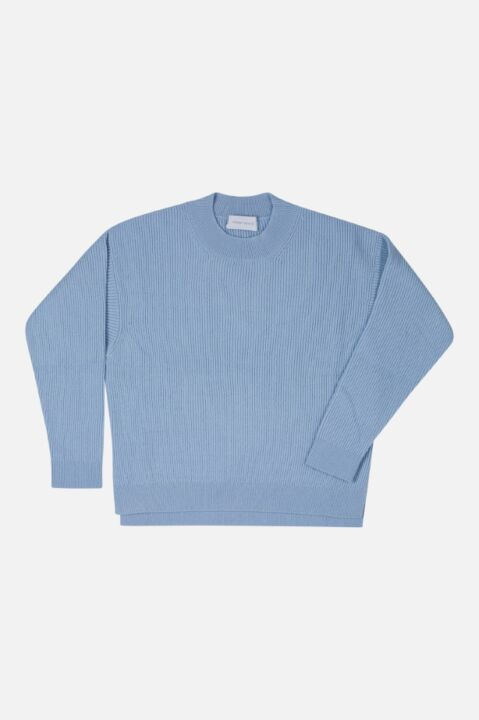 RIBBED RAGLAN SWEATER