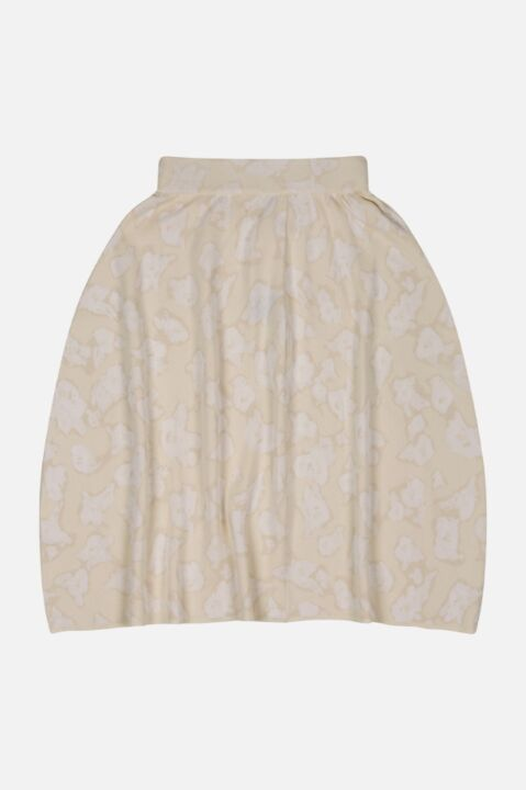 ASYMMETRICAL JACQUARD SKIRT