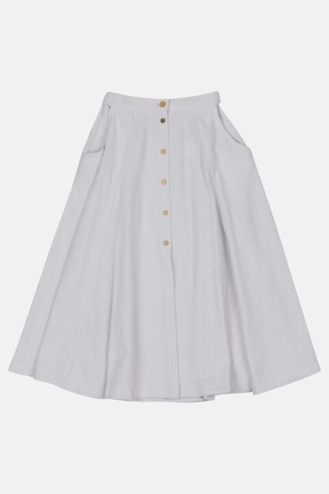 CALVARY COTTON DENIM SKIRT
