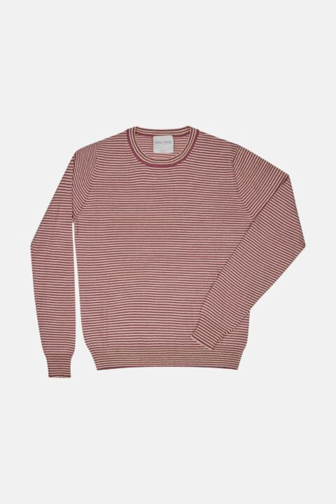 MERINOS LINEN ROUND NECK SWEAT