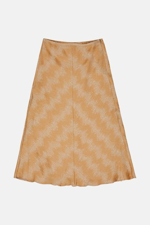 FLUID JACQUARD SKIRT