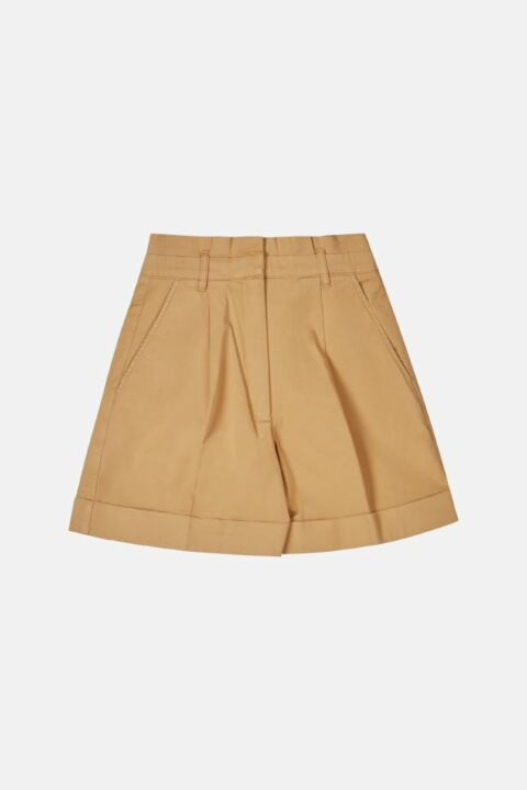 COTTON SHORTS WITH SIDE POCKET