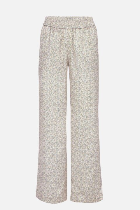 TROUSERS WITH ELASTIC WAISTBAN