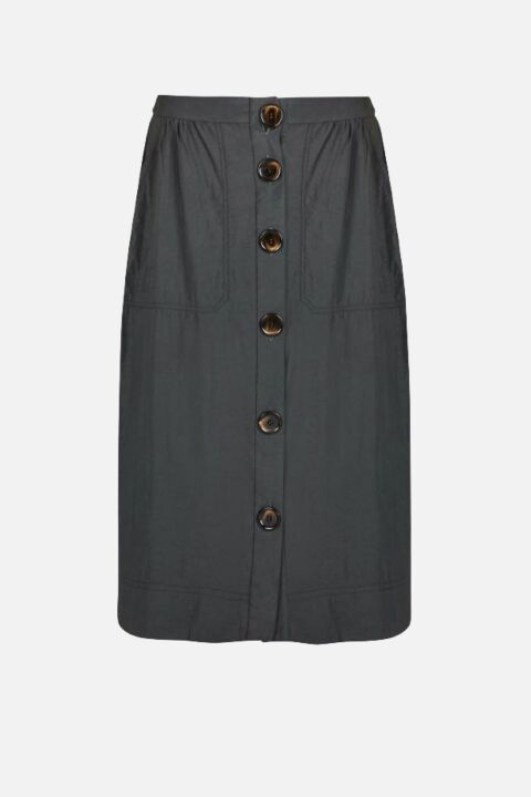 SKIRT WITH OVERSIZED BUTTONS