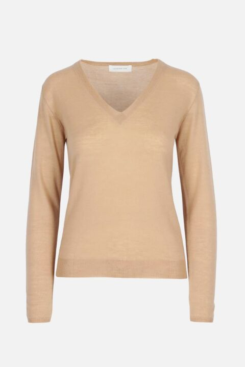 THIN V-NECK KNIT