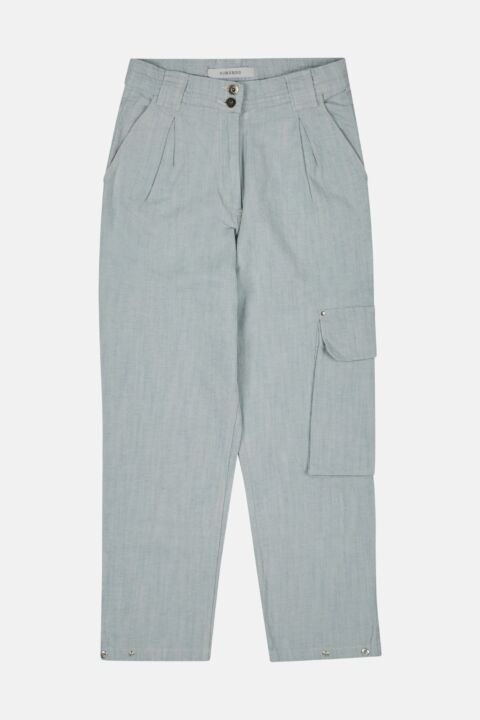 TROUSERS WITH DENIM FEEL