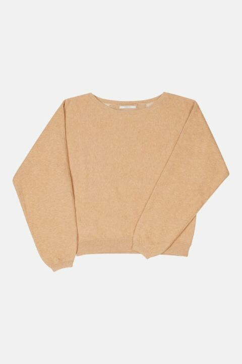 BOATNECK KNITTED JUMPER