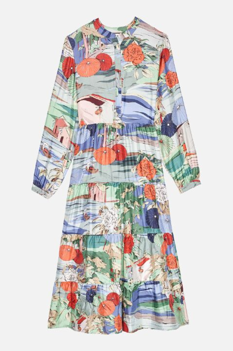 LOKINAWA MIDI DRESS