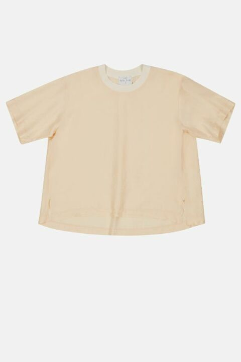 KNITTED HABOTAI SILK T-SHIRT