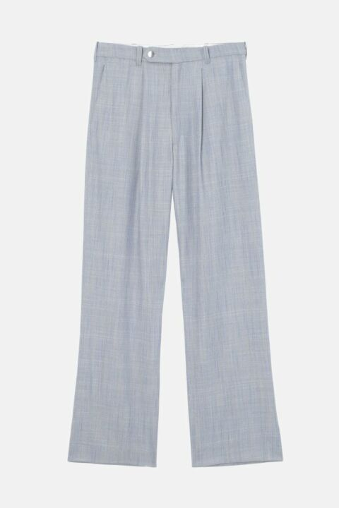 OVERSIZED OXFORD TROUSERS