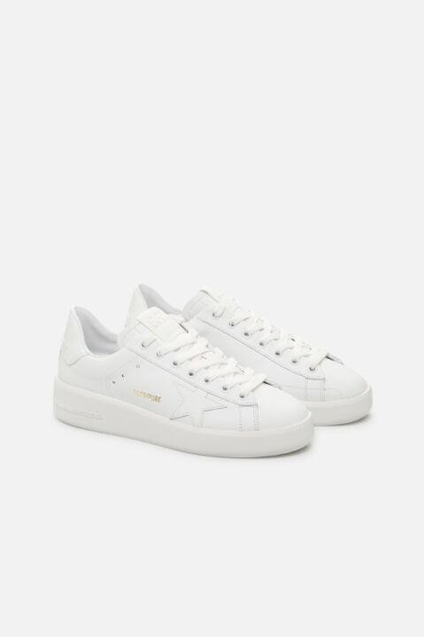 White sneakers with star