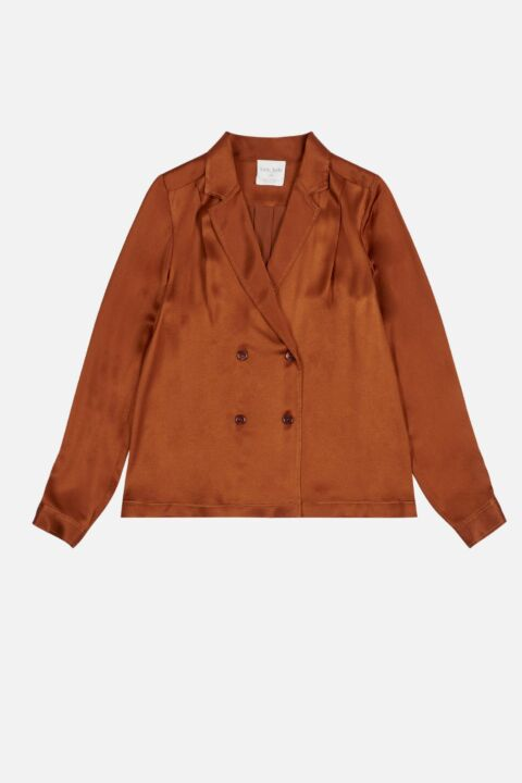 Cannella colored shirt jacket