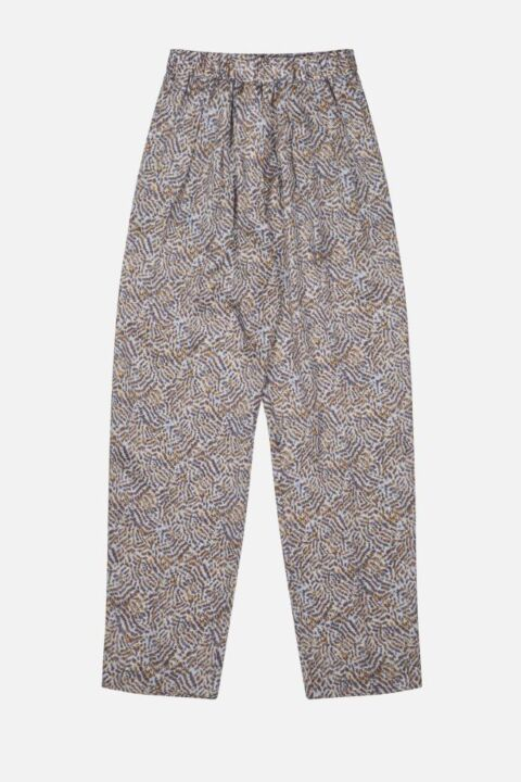 Blue animal trouser