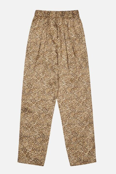 Gold animal trouser