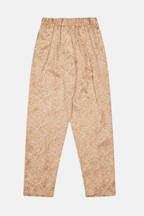 Beige animal trouser