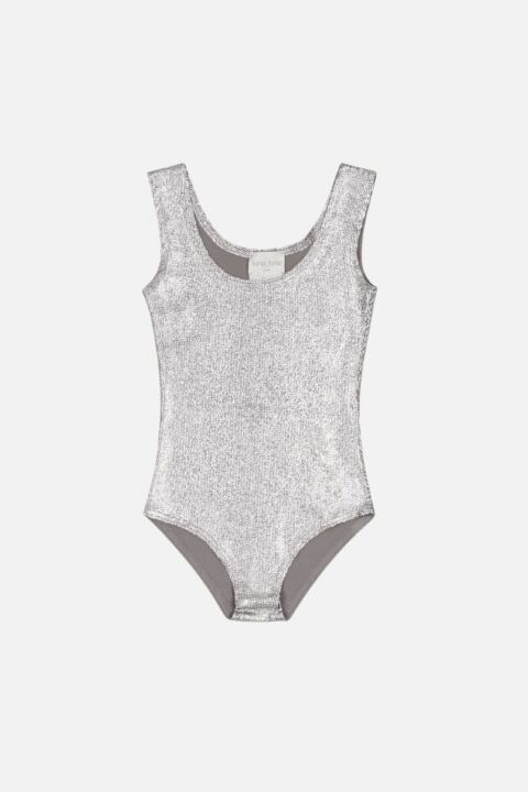 Silver sleeveless body