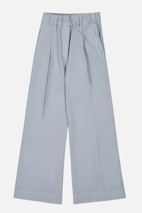 Long wide dark grey trouser