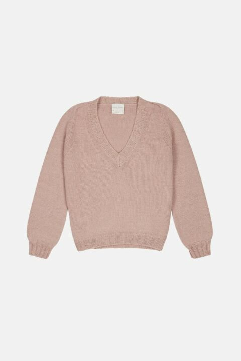 Old pink pullover