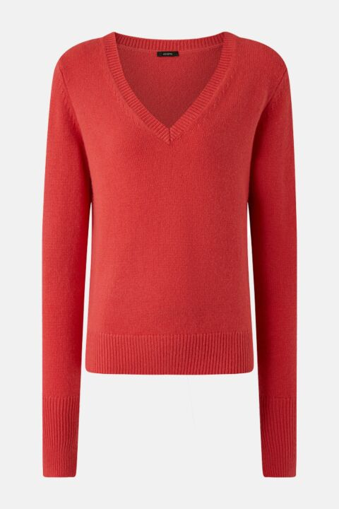 Pink cashmere knit