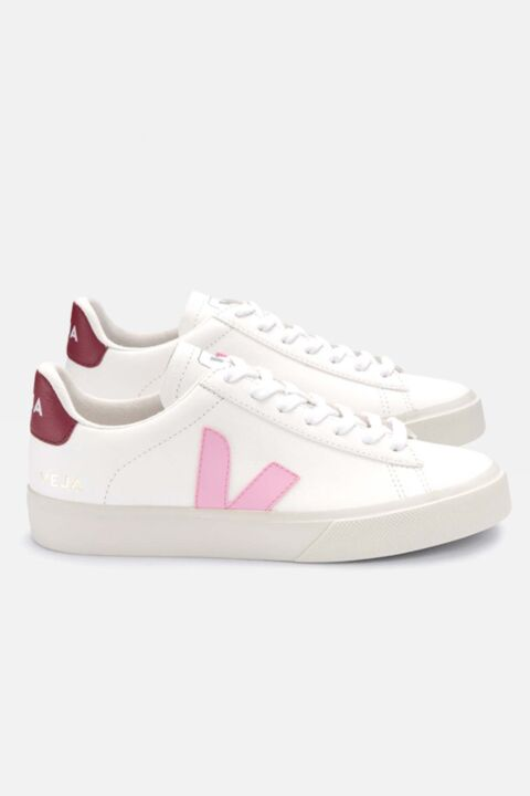 Campo white/pink/burgundy