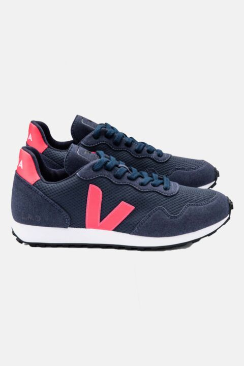 Sdu dark blue/pink sneakers