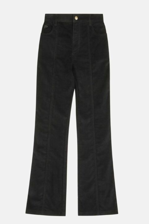 Black high waisted trouser
