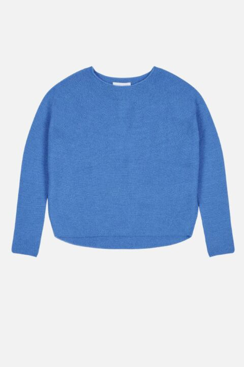 Azure blue knit sweater