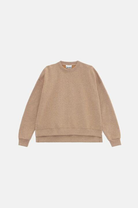 Oversized beige sweater