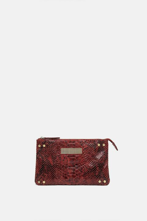 Mini python red bag