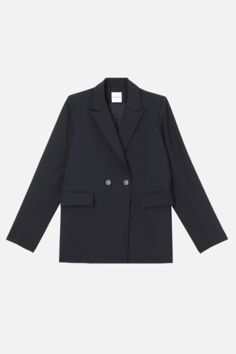 Dark blue marcello blazer