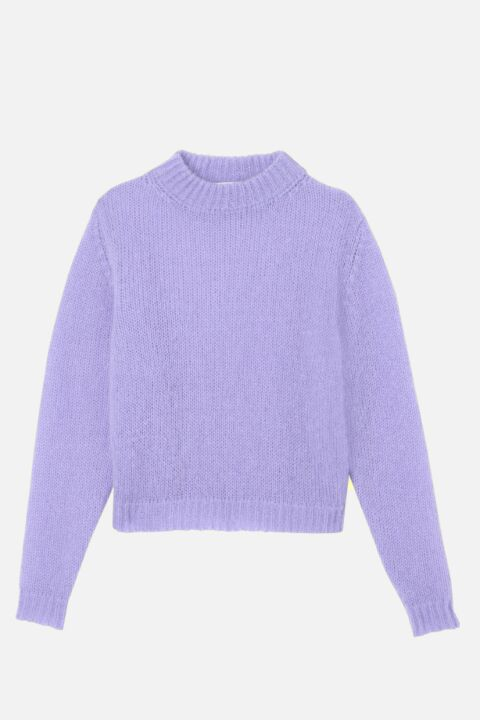 Mohair lilac sweater