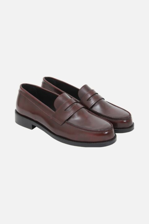 Bordeaux mox shoes