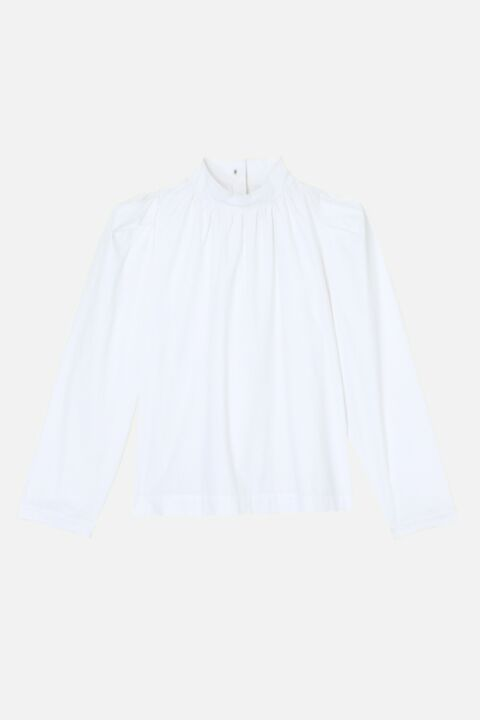 Emaliano white blouse