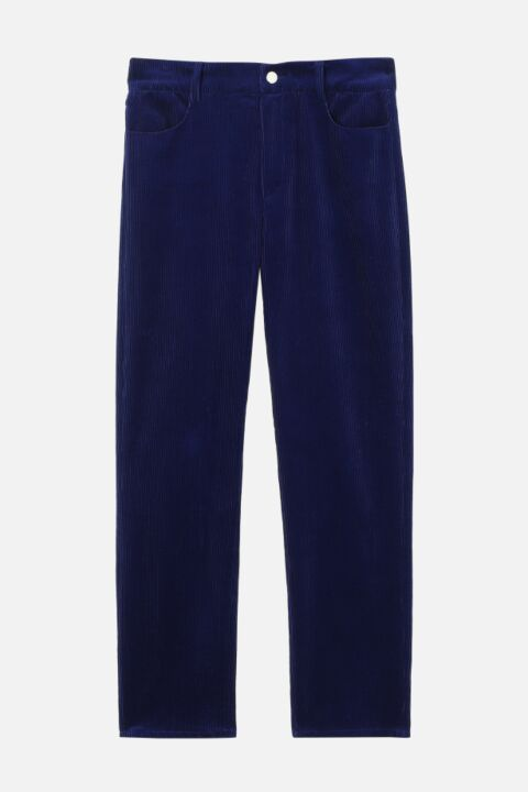 Electric blue trousers