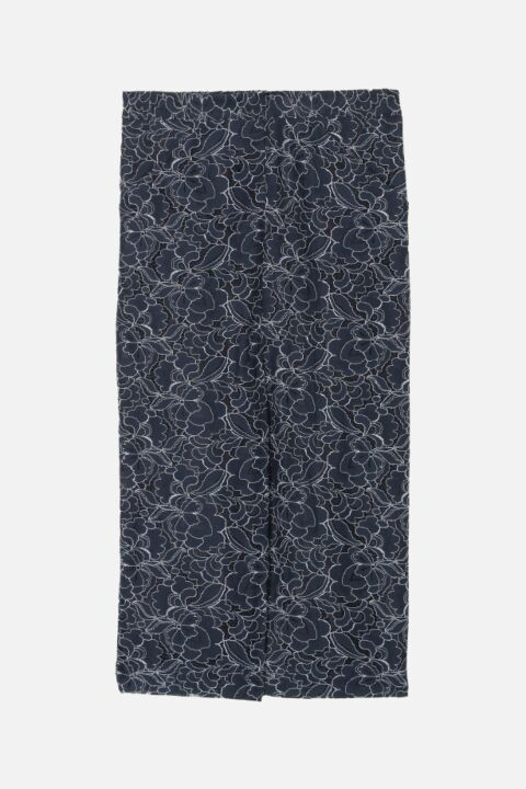 Pia floral dark blue skirt