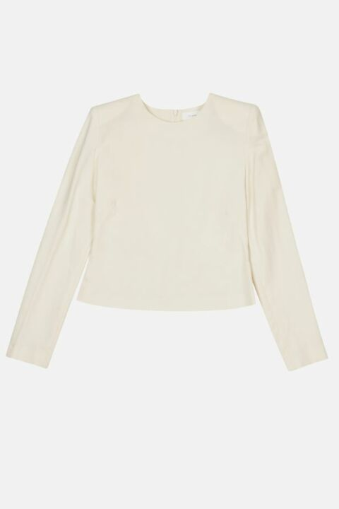 Long sleeve with high shoulder